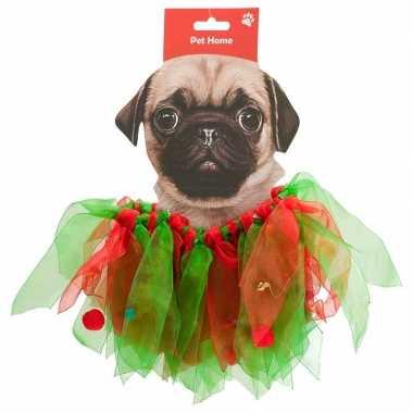 Huisdieren kerstpak kerstelf pakje voor honden