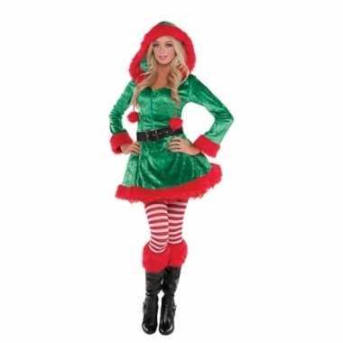 Kerstelfen jurkje voor dames