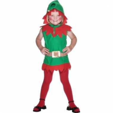 Kerstelfjes pak voor meiden